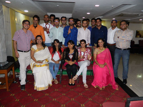 Placement & farewell party 2015-16